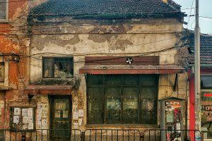 Стара сграда на улица Славянска