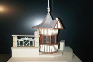 3D макет на вестникопродавалница