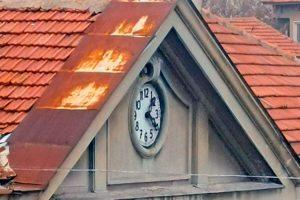 Часовника на старата банка в Лом